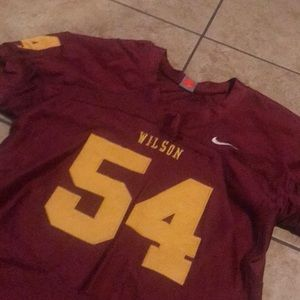 Nike Long Beach Wilson Football Jersey